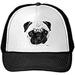 Funny Pug Trucker Hat