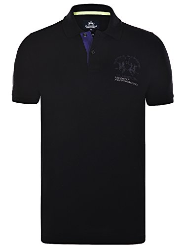 la-martina-slim-fit-maserati-polo-shirt-2xl-black