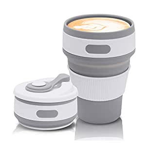folding cup travel cup collapsible jazz pose collapsible. Black Bedroom Furniture Sets. Home Design Ideas