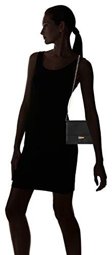 HUGO Damen Shanti 10199296 01 Schultertasche, 20 x 18 x 7 cm Schwarz (Black)
