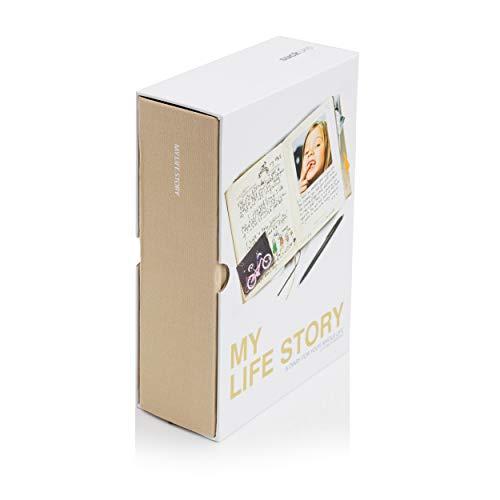 Suck UK My Life Story Journal and Personal Diary / Autobiografie und persönliches Tagebuch - Jubiläums, Geburtstags, Tauf, Hochzeits und Weihnachtsgeschenk