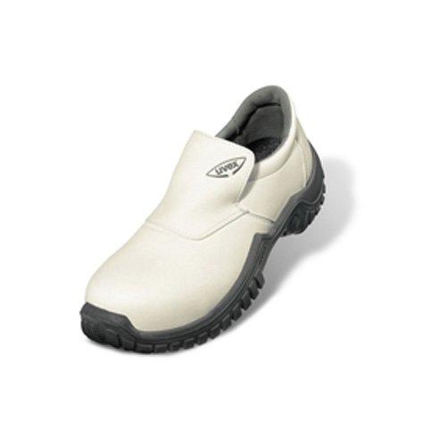 Chaussure de Sécurité UVEX MOCASSIN XENOVA HYGIENE S2 SRC ESD Blanc Blanc