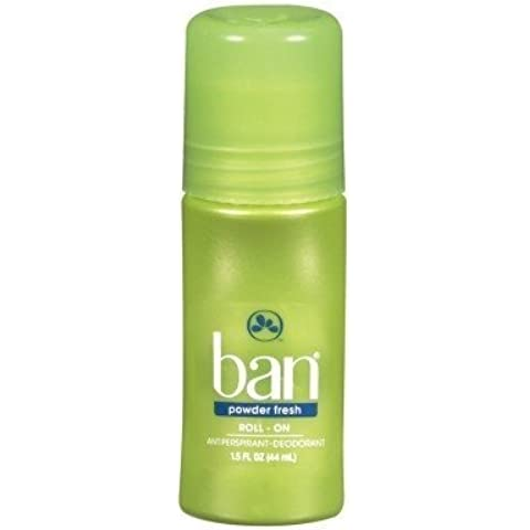 Ban Powder Fresh Original Roll On Antiperspirant Deodorant, 1.5 Ounce -- 3 per case. by Ban