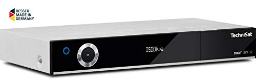 TechniSat DIGIT ISIO S2 – HD-Satellitenreceiver mit PVR-Aufnahmefunktion via USB oder im Netzwerk – Mit passendem CI+ Modul Sky tauglich