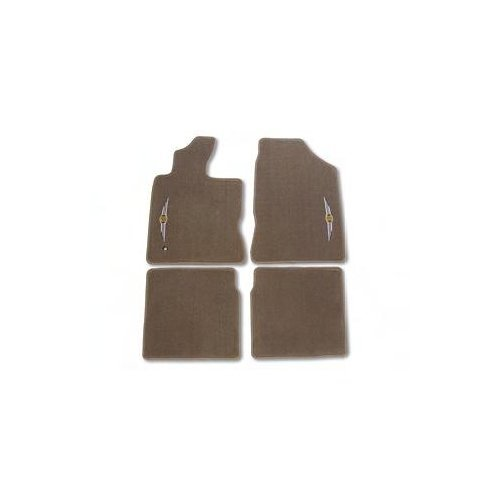 Preisvergleich Produktbild OEM Chrysler PT Cruiser Front and Rear Slate Gray Carpet Floor Mats by Mopar