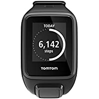 TomTom Spark GPS Multi-Sport Fitness Watch with Music and Heart Rate Monitor, Small Strap (Black)