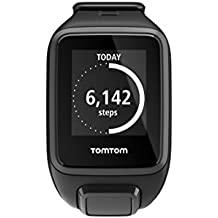TomTom Spark GPS Multi-Sport Fitness Watch with Music, Small Strap - Black