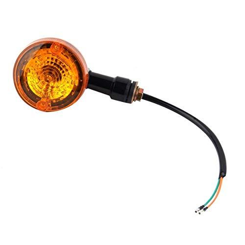 Qewmsg Moto Moto Ambre Clignotants Feu Clignotant Lampe Ampoule Universelle Lampe 12V Super Bright Facile à Installer