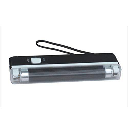 vcbbvghjghkhj-UK Portable Handheld Geldscheinprüfer UV-Lampe Banknotenprüfer LED Taschenlampe-schwarz -