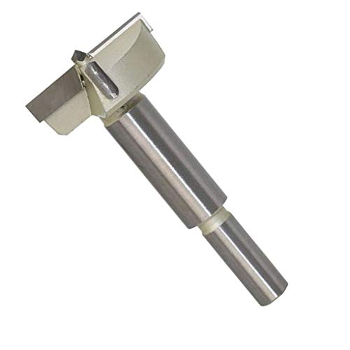 KESOTO Forstnerbohrer Holzbohrer aus Hartmetall 15-60mm Durchmesser, 10mm Schaft - 40 mm