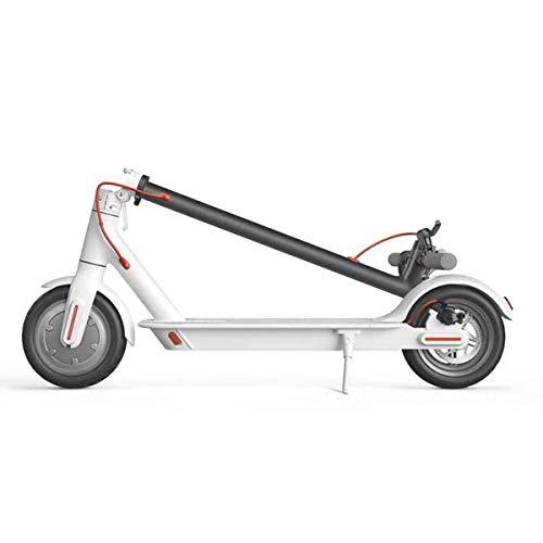 Motorisierte Roller (Chair Elektroroller Folding Lightweight Commuting Motorisierte Roller für Erwachsene Kinder, Max Geschwindigkeit 25KM / H, 8,5 '' Reifen,White)