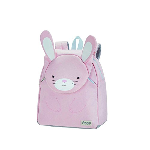 Samsonite Happy Sammies Zainetto per Bambini S, 28 cm, 7.5 L, Rosa (Rabbit Rosie)
