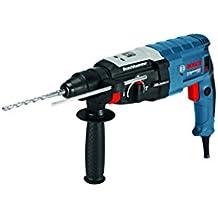 Bosch Professional - Martillo perforador gbh 2-28, tope de profundidad, 880 vatios de motor, portaherramientas sds-plus, ataque adicional, l-boxx, 1 pieza 0611267501