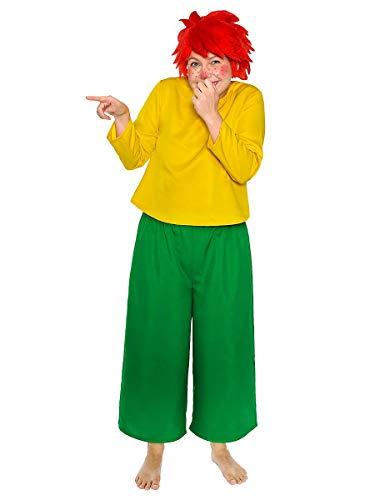 Maskworld Pumuckl Kostüm für Erwachsene – original lizenziert – zweiteilig – Karneval ()