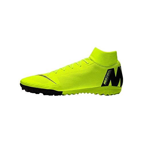 Nike Herren SuperflyX 6 Academy TF Fußballschuhe, Grün (Volt/Black 701), 42 EU
