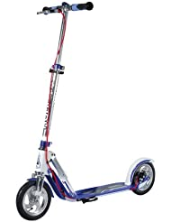 HUDORA Big Wheel Air Dual Brake Luftreifen-Scooter (205 - 230mm) Handbremse Tret-Roller