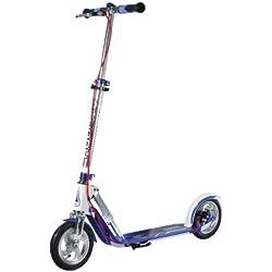HUDORA Big Wheel AIR 205 Dual Brake - scooters (Adults, Asphalt, Multicolor, Aluminio)