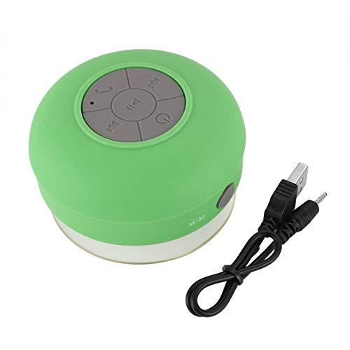 Heaviesk Bluetooth-Lautsprecher Mini Wireless Portable Wasserdichte Dusche Lautsprecher für Telefon MP3 Bluetooth-Empfänger Hand Free Car Speaker
