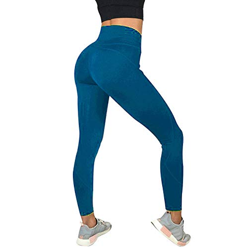 MAyouth delle Donne Leggings Sport Yoga Pants Corsa Collant Power Stretch  Allenamento Collant Palestra Leggings anticellulite ccdc7ef9fb2