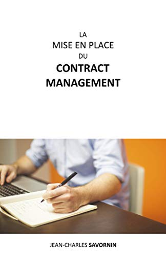 La mise en place du Contract Management