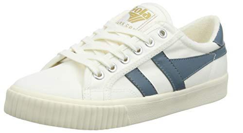 Gola Damen Cla280 Sneaker, Elfenbein (Off White/INDAIN Teal XE), 37 EU Damen Mark