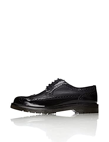 FIND Men's Abbott Brogue Shoes, Black (Black), 10 UK