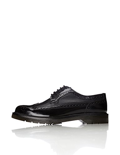 find. Brogue di Pelle Uomo, Nero (Black), 40 EU