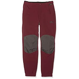 Jack Wolfskin Kinder Rascal Winter Pants Softshell-hose, garnet red, 164 EU