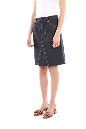 GED044BLUEECRULIGHT Prada Jupes Femme Coton Bleu Bleu