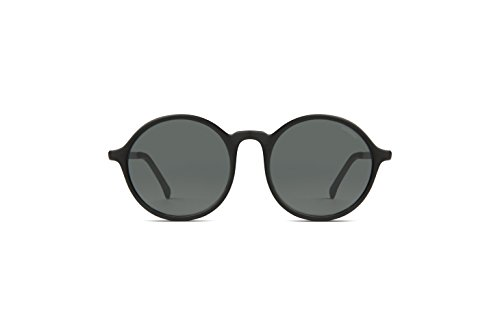 KOMONO Damen Madison Brillengestelle, Schwarz (Gris Metal Black), 50