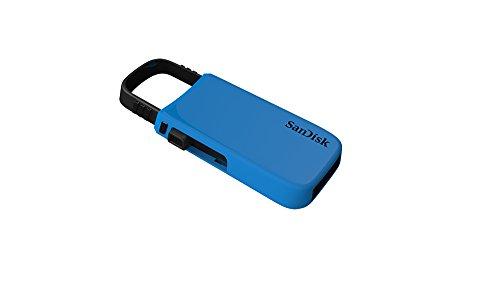 SanDisk 16GB CZ59 Cruzer U Series USB 2.0 Pen Drive, Blue