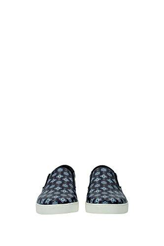 CS1365AR1708V891 Dolce&Gabbana Pantoufle Homme Cuir Bleu Bleu