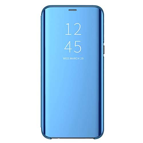 Hülle Case für Samsung Galaxy A50, ultradünne PC Hartschalen Schutzhülle kollisionssicherem kratzfestem einfarbigem Kunststoff vergoldet durchsichtige Flip-Ledertasche für Redmi K20 - Band Handy Pcs