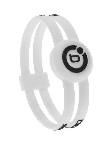 Bioflow Sport Magnetarmband, Schwarz / Weiß weiß / schwarz weiß / schwarz L 20.5cm
