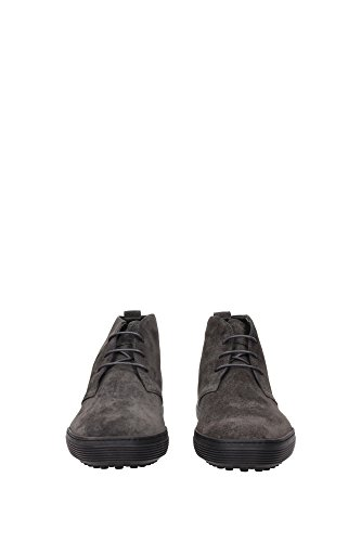 XXM0XF0N460SUWB400 Tod's Chaussure montante Homme Chamois Gris Gris