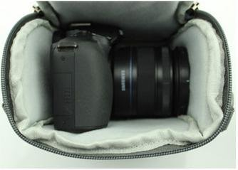 Z&HXborsa a tracolla Fotografia reflex borse fotocamera zaino impermeabile multifunzionale DV , red Blue