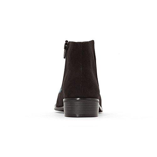 Mademoiselle R Frau Bestickte Boots Schwarz