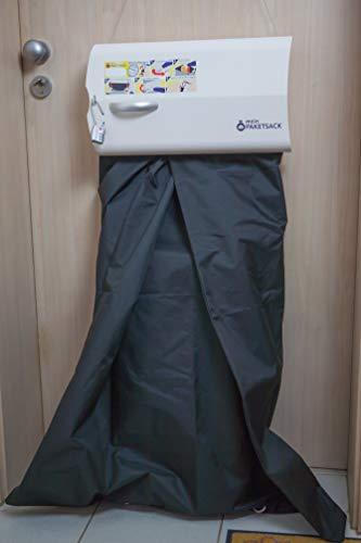 meinPAKETSACK - die sichere Paketstation für Zuhause, Paketbox für alle Paketdienste zur Annahme von Paketen in Miet- und Eigentumswohnungen, universelle Montage & platzsparend (Basic) - 4