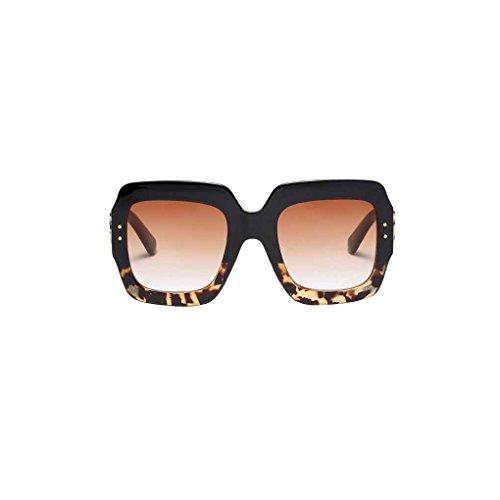 Meisijia Frauen-Mann-Sonnenbrille Wayfarer polarisierten Sonnenbrillen Fashion Gradient Lens Brille verspiegelten Gläsern