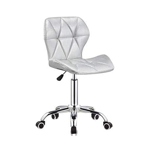 Llslls Drehbarer Barstuhl , Drehstühle Pu-Leder |Verstellbare Home Office Schreibtischstühle |Wohnzimmer Stühle |Rückenlehne des Computer-Stuhls , mit hydraulischer Hebebühne auf Rädern