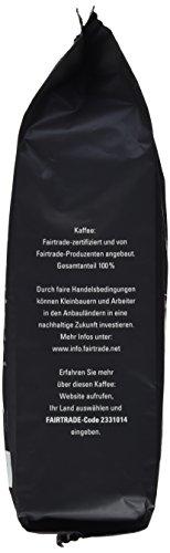 Mount Hagen Röstkaffee ganze Bohne FairTrade, 1er Pack (1 x 1 kg)