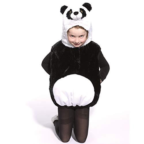 Bär Panda Kostüm Kinder - Kinder Kostüm Panda Bär Tian Gr. 104-110 Tier Fasching Karneval