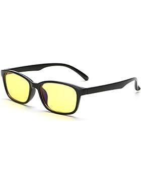Gafas de protección antiradiación MS/Gafas resistentes a la fatiga de género/Gafas de visión de noche Blu-ray-prueba