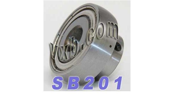 Set Screw SB201-12MM Insert Bearing Light Duty