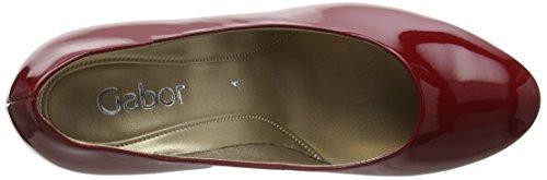 Gabor Lavender - Scarpe con Tacco donna Rosso (Cherry Red Patent HT)