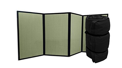 Combinación Tatami Plegable Futon portátil Negro