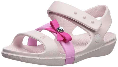 Crocs Girls' Keeley Charm Sandal Mary Jane Flat