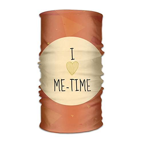 I Love Me Time And Orange Unisex Sports Variety Scarf Head Scarf
