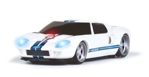 road-mice-ford-gt-car-wireless-computer-mouse-white-with-blue-stripes