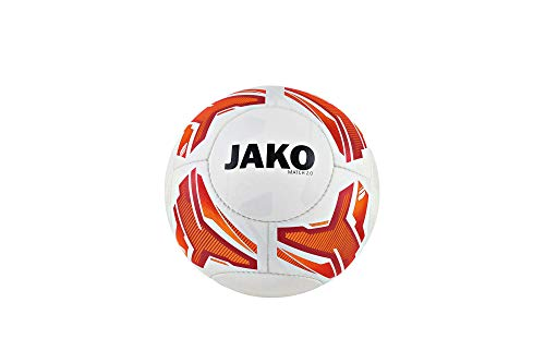 "JAKO Fußball-Trainingsball Lightball Match 2.0"" rot (500) 5"
